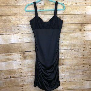BETSEY JOHNSON | Black Silk Evening Dress 4